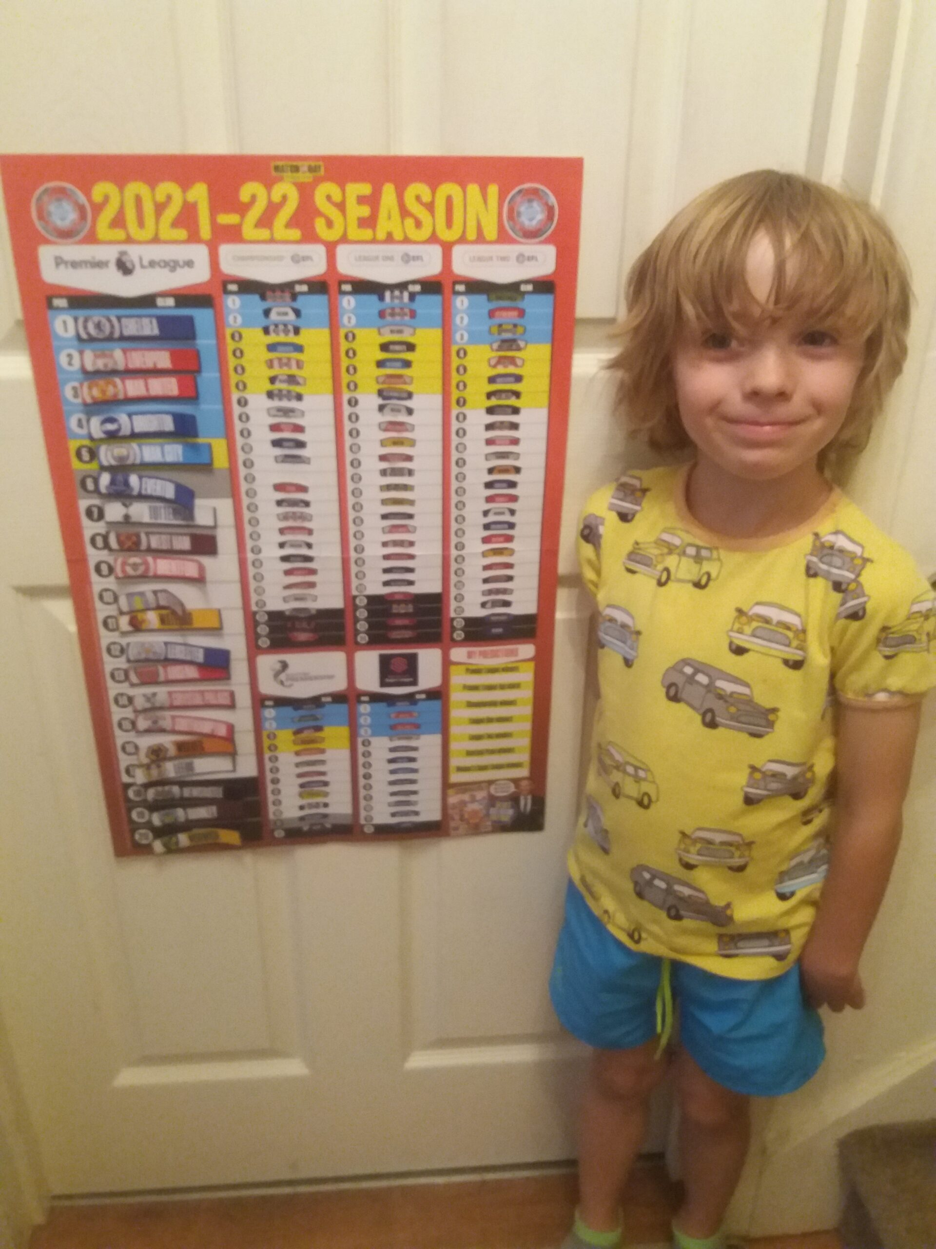 Football Charts for reading, maths and more!